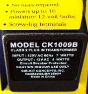 12V, 5 Watt Transformer