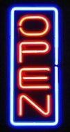Open Vertical Neon