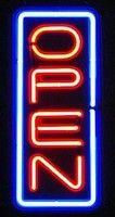 Open Vertical Neon