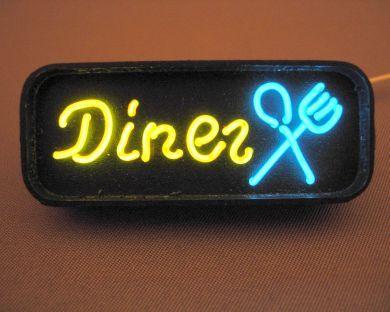 Diner (Printed) Neon