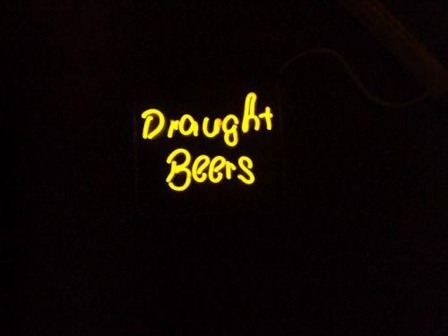 Draught Beer Neon